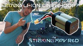 Li-Ion vs Li-Po on a Cinewhoop - STRIKING FPV R&D