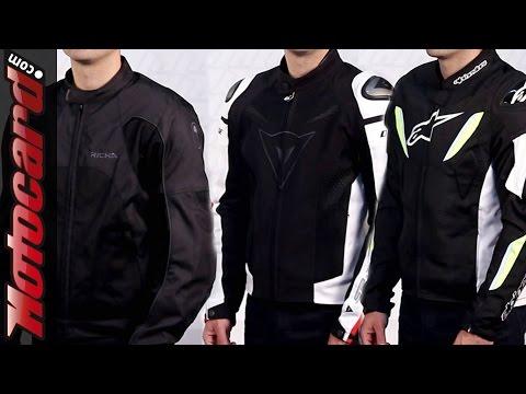 Comparativa chaquetas ventiladas en Motocard.com