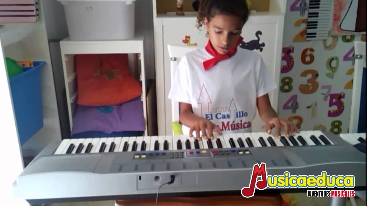 Himno de la Alegría - Grupo de alumnos de Mi Teclado 1 - El castillo de la música