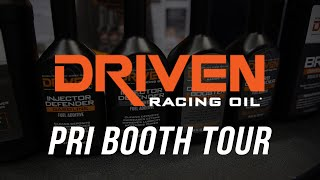 2015 PRI Show – Driven Racing Oil