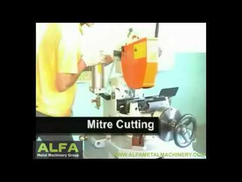 Semi-Automatic Circular Sawing Machine
