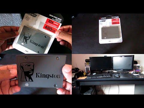 COLOQUEI UM SSD NO MEU PC GAMER