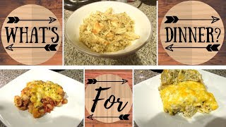 What's For Dinner? | Budget Friendly Easy Meals| Mini Life Update!