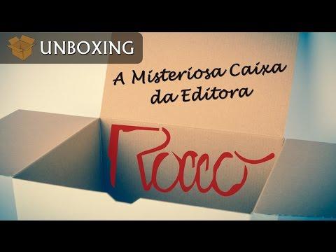 Unboxing   A Misteriosa Caixa da Editora Rocco