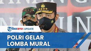Polri Adakan Bhayangkara Mural Festival 2021, Masyarakat Boleh Beri Kritik Negatif lewat Karya Seni
