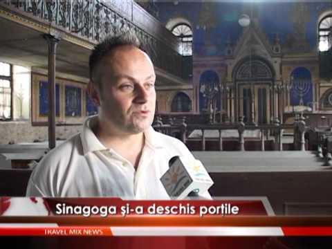 Sinagoga şi-a deschis porţile special pentru Festivalul de Film de la Mediaş – VIDEO