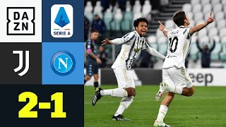 Chiesa überragend! Juve zurück in der Erfolgsspur: Juventus – Neapel 2:1 | Serie A | DAZN Highlights