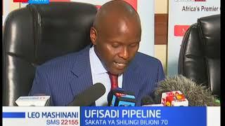 Mkurugenzi mkuu wa Kenya pipeline Joe Sang aelezea ufisadi ya KPC - Leo Mashinani