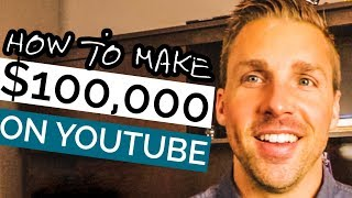 How To Make $100,000 A Year on YouTube (Earn 10k A Month With A Small Channel)
