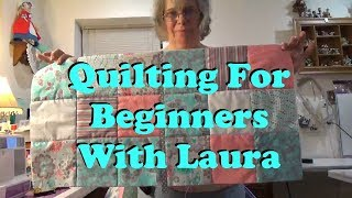 How To Use Pre-cut Fabrics For The Beginning Quilter - Lesson 3