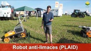 Robot anti-limaces pour les grandes cultures (Uni Kassel, KommTek et l'Institut Julius Kühn)