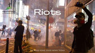Riots! Mark 14:1-2