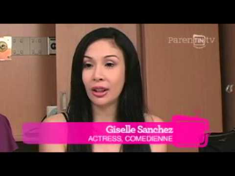 Parentin.tv Celebrity Interviews: Giselle Sanchez Ep 1 Part 1