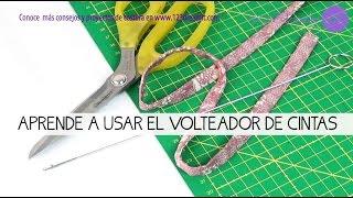 Volteador de cintas - Cómo se usa
