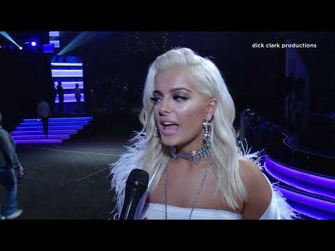 Bebe Rexha talks about performing with Florida Georgia Line at the 2017 AMAs