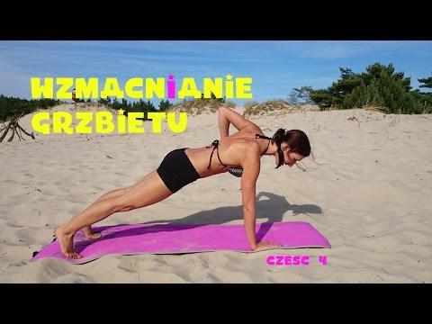 Zestaw ćwiczeń na mięśnie wykorzystywane