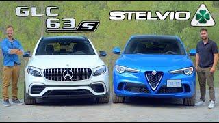 [Throttle House] 2019 Alfa Romeo Stelvio Quadrifoglio vs Mercedes-AMG GLC 63S