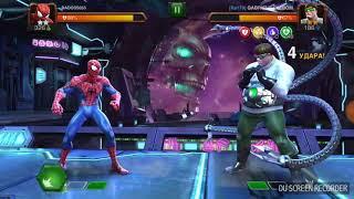 Бой:человек паук против доктора осминога