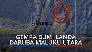 Gempa M 5.2 Guncang Daruba Maluku Utara, Tidak Berpotensi Tsunami