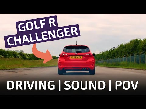 Brilliant! Ford Fiesta ST Reviewed: Is it better than a Golf R? | Driving, Sound, POV.