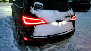 Audi Q5/Q7 V6 TDI -10°F/-23°C winter cold start - no block heating...