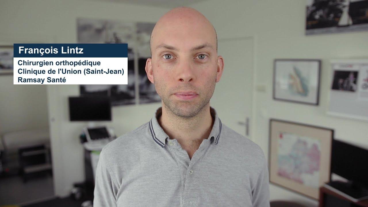 Interview du Dr François Lintz, chirurgien orthopédique