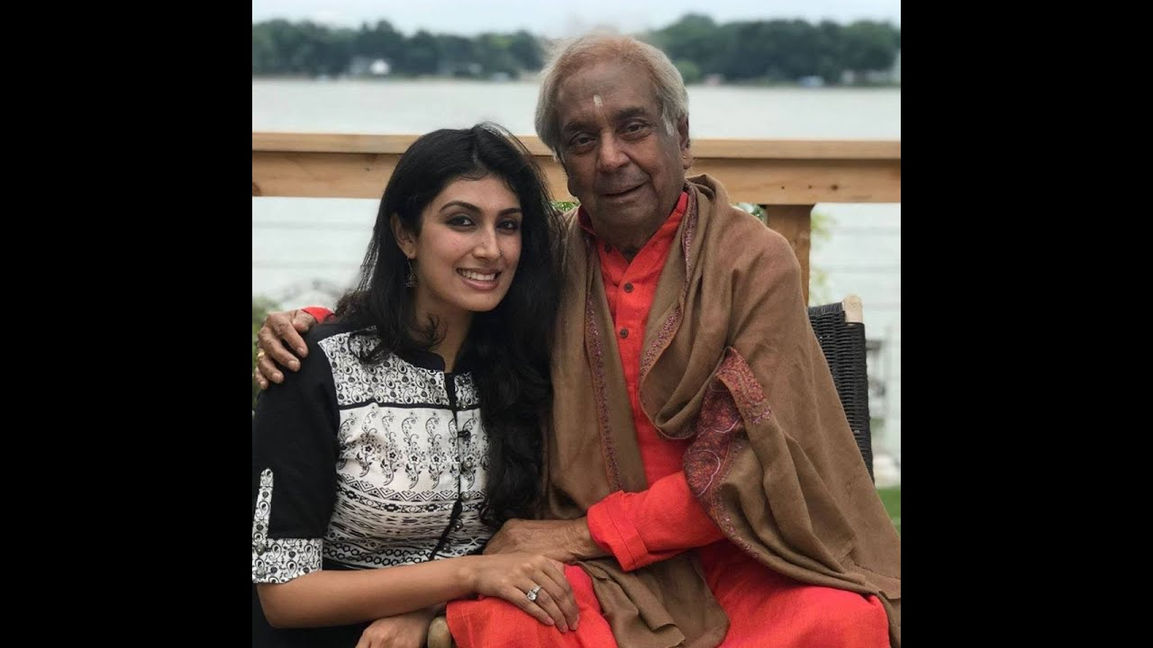 Kathak Connoisseur Shinjini Kulkarni, grand daughter of Pandit Birju Maharaj Ji with Atif Hanif