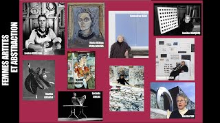 Conférence HDA : Femmes artistes et abstraction 2019