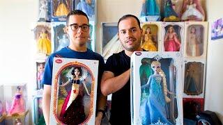 """בני הזוג האלה בזבזו מעל ל-200,000 ש""""ח על בובות של דיסני >>"""
