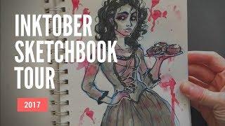 Inktober Sketchbook Tour - Nov 2017