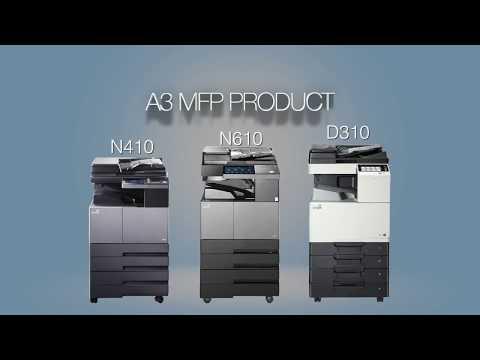 Sindoh D-311 Color Multifunction Printer