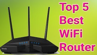 Top 5 Best WiFi Router 2018 To Buy