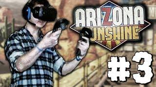 СЛИШКОМ МНОГО ШУМА! | VR Зомби Апокалипсис в Arizona Sunshine #3