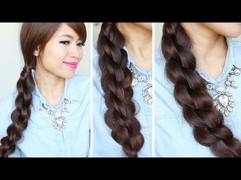 3D Split Twist Braid Tutorial | Easy Braided Hairstyles