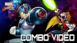 Marvel Vs. Capcom Infinite - X & Zero Combo Video