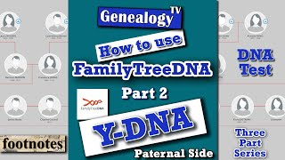FamilyTreeDNA: Y-DNA Test (The Fathers Line) Part 2 Of 3 - Genetic Genealogy 2019