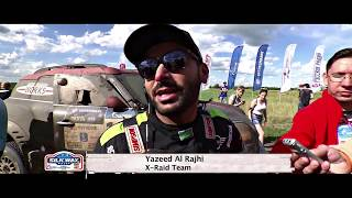 Yazeed Al Rajhi in Silkway Rally 2017 - Stage 3&4