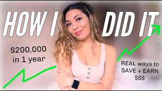 how i went from broke to earning over SIX FIGURES in 1 YEAR: REAL SECRETS + TIPS TO MAKE MORE MONEY!