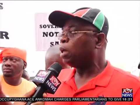 Thousands Demonstrate Against Deal - News Desk on Joy News (28-3-18)