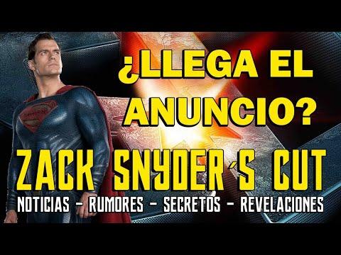 ¿HOY ES EL GRAN DÍA? - ZACK SNYDER CUT - LIGA JUSTICIA - SUPERMAN - BATMAN - AQUAMAN - JUSTICE LEAGU