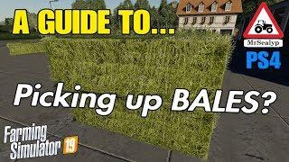 Overize Bale Loading And Transport Farming Simulator 19 - Самые