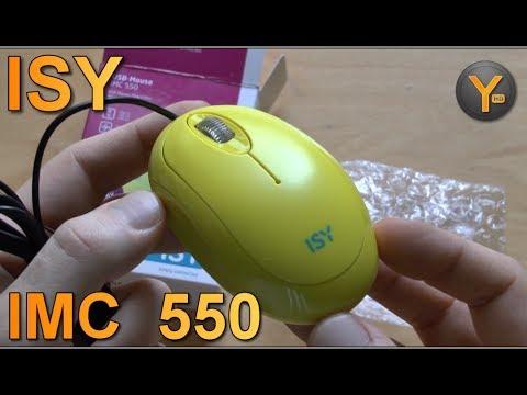 Kurztest: ISY IMC 550 Optische Mini Maus USB 2.0 mit Kabel / IMC550 Optical Mouse