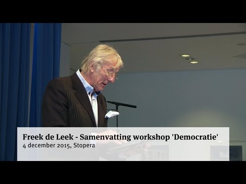 Freek de Leek - Samenvatting workshop 'Democratie'