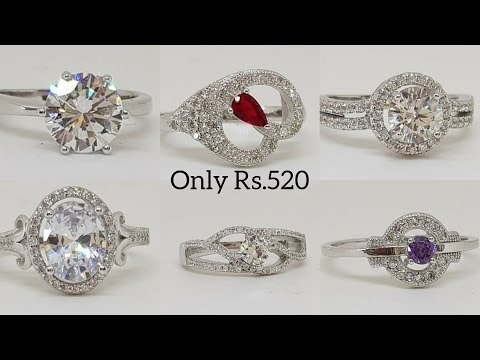 Designer Silver 925 (Chandi ) Ladies rings Only Rs.520