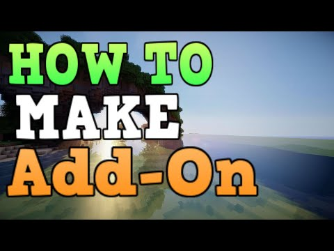 How To Make Mods/Addons IN Minecraft Bedrock Edition [EP1]