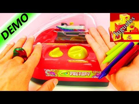 DEMO Melt n' Mold, de Crayola | Haz tus propios crayones de cera