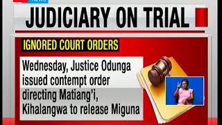 Court orders issued and ignored in regard to Miguna Miguna