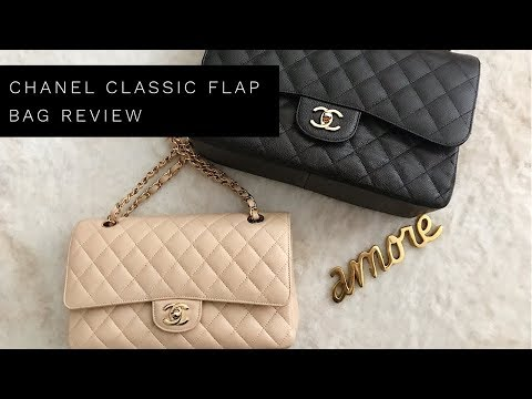CHANEL CLASSIC JUMBO & MEDIUM FLAP BAG REVIEW l Lina Noory