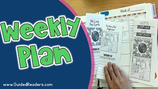 Guided Reading | Weekly Plans