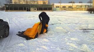 Зимние палатки для рыбалки maverick ice 2